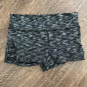 Pants - Sext Cut Out Black Athletic Shorts NWOT